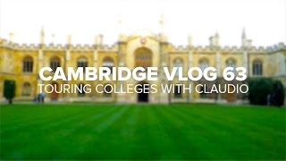 Download Cambridge Vlog 63 | Touring Colleges with Claudio Video