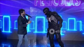 Download ¡Increíble! Apareció Venom del hombre araña en Las puertas Video
