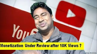 Download Youtube Monetization not Enabled after 10K Views ? Still Under Review !Problem & Solution Video