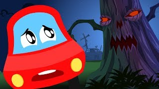 Download 🔴 Halloween Nursery Rhymes And Videos For Toddlers | Little Red Car Cartoons For Children Video