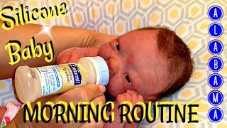 Download My Silicone Baby's Full Morning Routine with a TIP- The Land of 1O,OOO Pacifiers Video