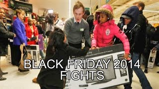 Download Black Friday Fight 2014 COMPILATION: Walmart + Tesco MADNESS, television haul, lingerie brawl Video