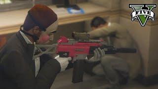 Download The Bank Heist [GTA V Rockstar Editor] Video