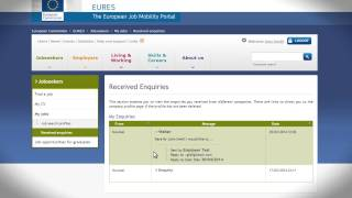 Download How to use the EURES Portal - for job seekers Video