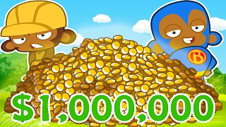 Download $5,000,000 EPIC STRATEGY (WIN EVERYTIME)! - BLOONS TOWER DEFENSE BATTLES (BTD BATTLES) Video
