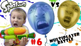 Download Lets Play SPLATOON Part 6: POP BALLOONS BATTLE! (FGTEEV MULTIPLAYER ACTION) Video
