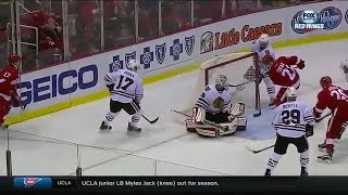 Download Tomas Tatar Hat Trick vs. Blackhawks Video