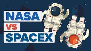 Download NASA vs SpaceX - What's The Difference? Video