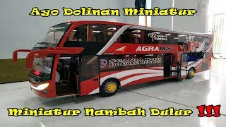 Download Review Miniatur Bus Double Decker Agra Mas Jetbus2 buatan Mas Bagaz NFU Solo Video