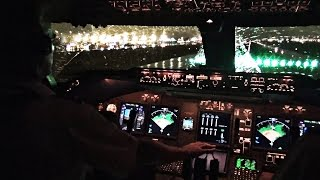 Download Boeing 747-400 Miami Take-off in Heavy Rain - Cockpit View Video
