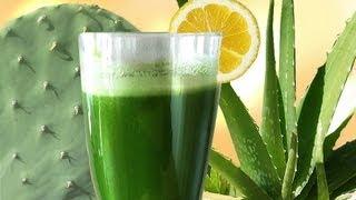 Download Cactus Aloe Smoothie, the SUPER Longevity drink w Aloe Vera & Prickly Pear Nopales Video