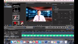 Download Creating a news report In Final Cut Pro X Video