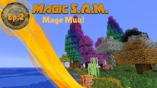 Download Magic S.A.M~Modded Minecraft~Episode:2~Mage Muu! Video
