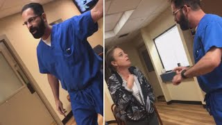 Download Video Shows Doctor Throwing Patient Out of Office Video