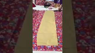 Download Cara paling senang dan simple potong kain lipat batik Video