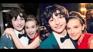 Download Millie Bobby Brown and Finn Wolfhard cute @ SAG Awards Video