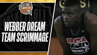 Download The Dream Team Scrimmages Against Chris Webber and the 1992 Select Team Video