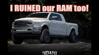 Download 2017 Ram 2500 Leveling Kit Taller Wider Video