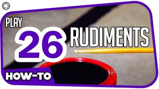 Download 26 rudiments (by My Drum School) Video