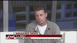 Download Carrier employee on deal to keep jobs in Indy: ″I couldn't believe it″ Video