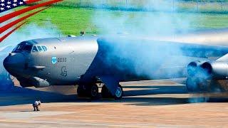 Download B-52 Bombers Scrambling: All Bombers Minimum Interval Takeoff Video