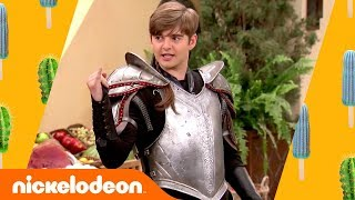 Download Jack Griffo Joins the Knighthood in Astoria as Sir Swayze 🤩 | Knight Squad Video