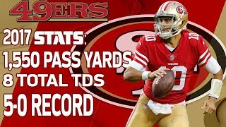 Download Jimmy Garoppolo's 2017 Season Highlights that Got Him PAID💰💰 | NFL Highlights Video