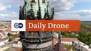 Download #DailyDrone: Schlosskirche Wittenberg | DW Deutsch Video