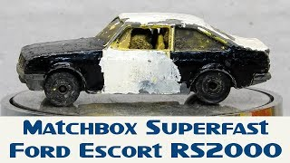 Download Matchbox Custom Restoration Superfast Ford Escort RS2000 Rally Car Build Off Video