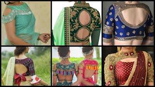 Download Blouse Back designs , Blouse neck designs, blouse sleeves pattern, latest blouse , designer blouse Video