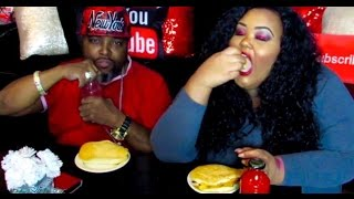 Download 🧀MUKBANG | Brooklyn Cheesy Beef Patty w/ Coco Bread (Tower Isle) | Story Time | Couples Edittion Video
