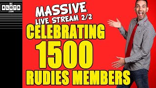 Download 🔴 1500 SPINS for 1500 RUDIES 🎰 CELEBRATION Pt.2/2 ✪ BCSlots Video