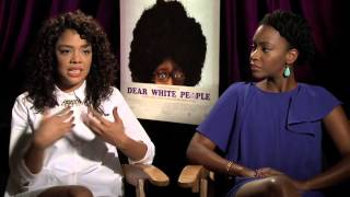 Download Dear White People Interview with TessaThompson & Teyonah Parris Video