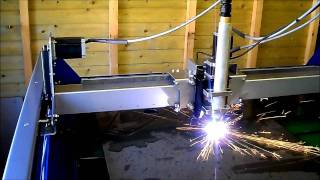Download CNC PLASMA 4X4 HYPERTHERM POWERMAX 45 WITH T45 MACHINE TORCH Video