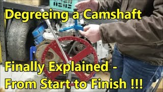 Download Degreeing a Camshaft Made Easy: Explained & Demonstrated (ENGINE BUILDING ESSENTIALS) Video