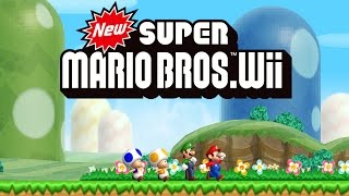 Download New Super Mario Bros. Wii Worlds 1 - 9 Full Game (100%) Video
