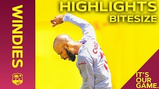 Download Windies vs India 1st Test Day 3 2019 | Bitesize Highlights Video