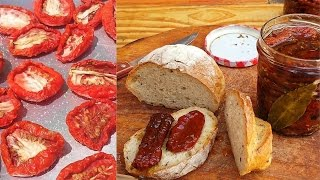 Download Italian homemade sun dried tomatoes Video