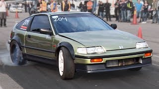 Download Rear Wheel Drive Honda CRX (BMW Powered!) Video