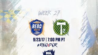 Download USL LIVE - Reno 1868 FC vs Portland Timbers 2 9/23/17 Video