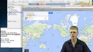 Download Use Google/Bing map locations in Garmin BaseCamp (Win/Mac) Video