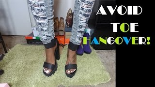 Download How to Avoid Toe Hangover! Video