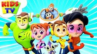 Download Meet The Supremes | Superheroes Cartoons | Nursery Rhymes For Children - Kids TV Video