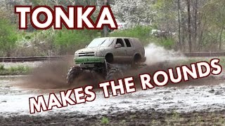 Download Tonka Chevy Makes The Rounds At Carsonville Tribute 2017 Mud Bog Video