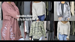 Download FashionNova Winter Try On Haul Video