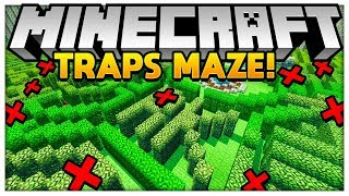 Download THE TROLLS IN MINECRAFT FOR YOUR FRIENDS - MINECRAFT TROLL TRAPS MAZE - Minecraft Modded Minigame Video