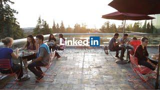 Download LinkedIn Intern Program Video Video