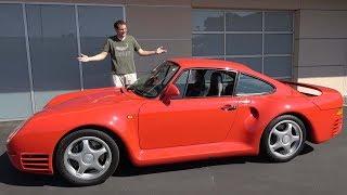 Download Porsche 959 - это икона автомобилестроения за $1,5 миллиона Video