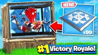 Download BOUNCE PAD + BOX FORT = BOUNCE ROOM!! Fortnite: Battle Royale Video
