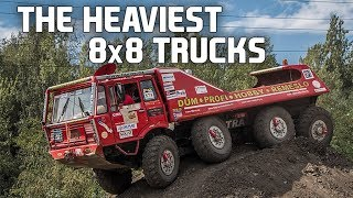 Download 10 Of The Coolest 8x8 Driven Trucks Video